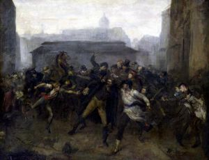 The Spy Episode of the Siege of Paris 1871 by Jean-Baptiste Carpeaux