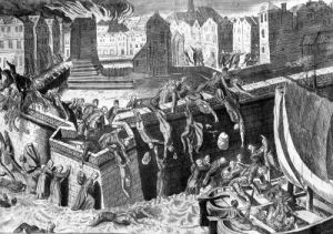 Massacre of Antorff 1576 by Franz Hogenberg