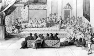 The Assembly of the Blois Estates by French School