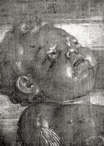 Cherubim Crying 1521 by Albrecht Dürer