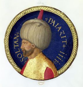 Sultan Bayezid I by Italian School