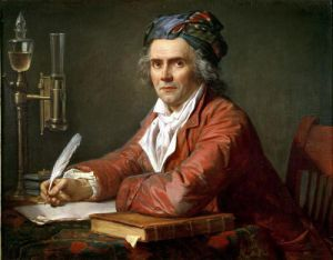 Portrait of Alphonse Leroy 1783 by Jacques-Louis David