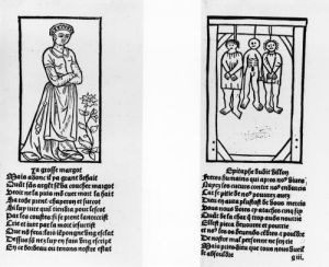 The Grosse Margot and the Three Hanged Men from 'Oeuvres by French School
