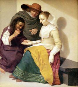 The Fortune Teller 1631 by Jacob van Velsen