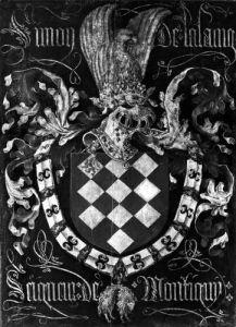 Coat of Arms of Simon de Lalaing Seigneur of Montigny by Flemish School