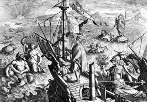 Amerigo Vespucci by Jan van der Giovanni Stradano Straet