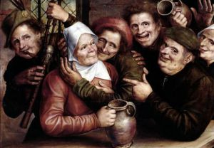 Merry Company 1562 by Jan Massys