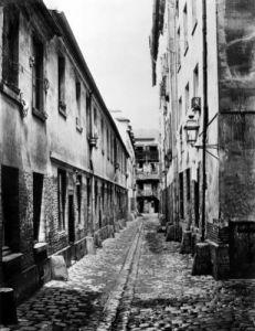 Rue du Fer-a-Moulin Paris 1858 by Charles Marville