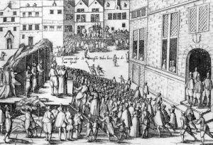 Scenes of the Spanish Inquisition at Ghent 1578 by Flemish School