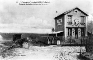 Postcard depicting a 'Panorama' near Antony by Anonymous