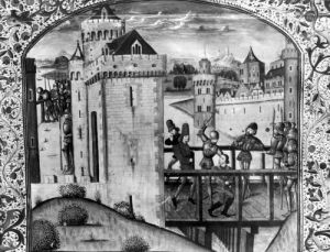 The Assassination of John the Fearless Duke of Burgundy by French School
