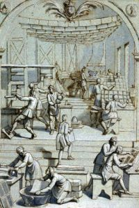 Frontispiece for the Royal Printing Works by French School
