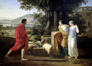 Jacob with the Daughters of Laban 1787 by Louis Gauffier