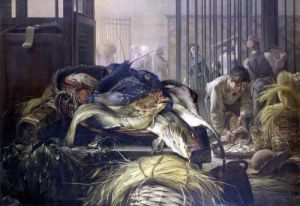 The Fish Market by Dominique Henri Guifard