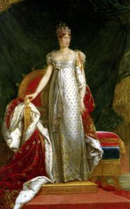 Portrait of Empress Marie Louise of France by Paulin Jean Baptiste Guerin