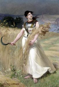Allegory of France by Georges Louis Poilleux-Saint-Ange