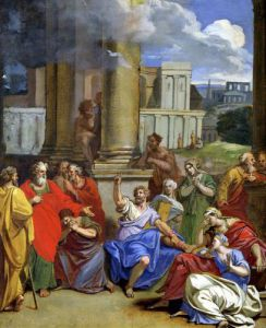 The Prophet Agabus Predicting St. Paul's Suffering in Jerusalem by Louis Cheron