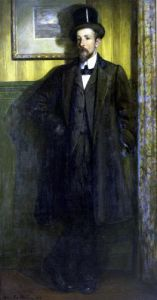 Portrait of Lucien Simon 1907 by Charles Cottet