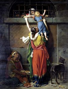 Boethius Bidding Farewell to his Family by Jean Victor Schnetz