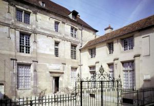 The birthplace of Jean de la Fontaine by French School