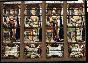 Window depicting Louis de Bourbon Comte de Vendome by French School