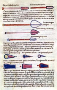 Surgical instruments from a treatise by French School