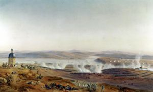The Battle of Austerlitz 1805 Four O'Clock by Jean Antoine Simeon Fort