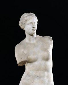 Aphrodite the 'Venus de Milo' Hellenistic period by Greece