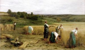 Harvest 1874 by Leon Augustin L'Hermitte
