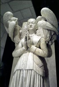 Tomb of Agnes Sorel 1450 by Jacques Morel
