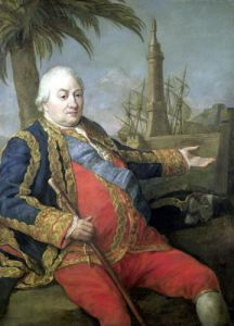 Pierre de Suffren-Saint-Tropez Vice Admiral of France by Pompeo Batoni