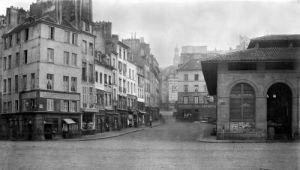 Rue de la Montagne Sainte-Genevieve Paris 1858 by Charles Marville