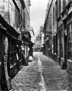 Passage de la Petite Boucherie by Charles Marville