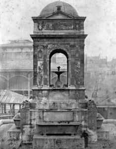 Fontaine des Innocents 1547 by Charles Marville