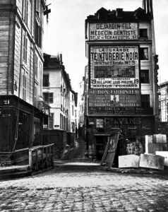 Rue de la Colombe Paris 1858 by Charles Marville