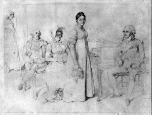 The Forestier Family by Jean-Auguste-Dominique Ingres