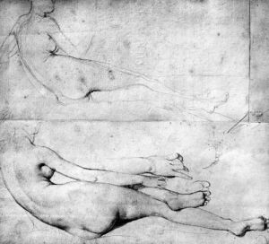 Studies for The Grande Odalisque by Jean-Auguste-Dominique Ingres
