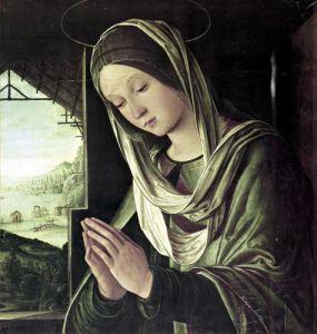 The Nativity c.1490 by Lorenzo Costa