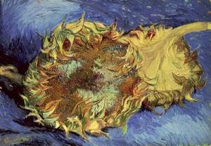 Sunflowers, 1887 by Vincent Van Gogh