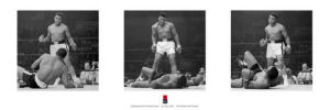 Muhammad Ali (Liston Triptych) by Slim