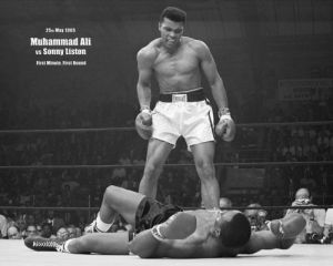 Muhammad Ali  (v Liston Landscape) by Mini