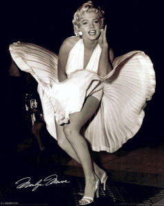 Marilyn Monroe (Seven Year Itch) by Mini