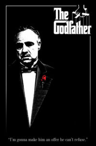 The Godfather (Red Rose) by Maxi