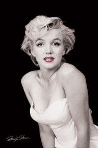 Marilyn Monroe (Red Lips) by Maxi