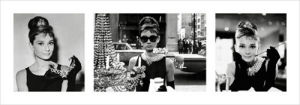 Audrey Hepburn (Breakfast at Tiffany's Triptych) by Anonymous