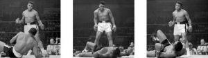 Muhammad Ali (Liston Triptych) by Celebrity Image