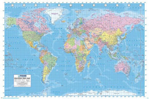 World Map by Maxi