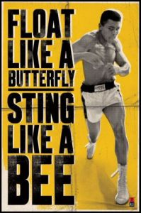 Muhammad Ali (Float Like A Butterfly) by Maxi