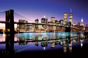 Brooklyn Bridge (Colour) by Anonymous