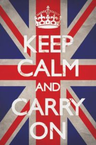 Keep Calm And Carry On (Union Jack) by Maxi